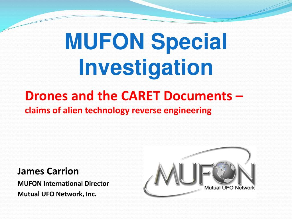 mufon special investigation l.