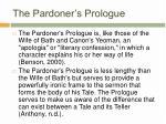 the pardoner s prologue