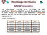 datenbankorganisation