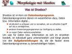 was ist shoebox3