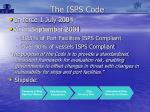 the isps code