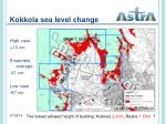 kokkola sea level change