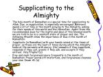 supplicating to the almighty2