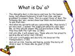 what is du a4