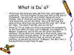 what is du a6
