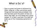 what is du a7