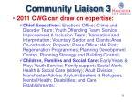 community liaison 3