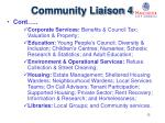community liaison 4