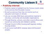 community liaison 5