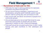 field management 1