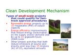 clean development mechanism38