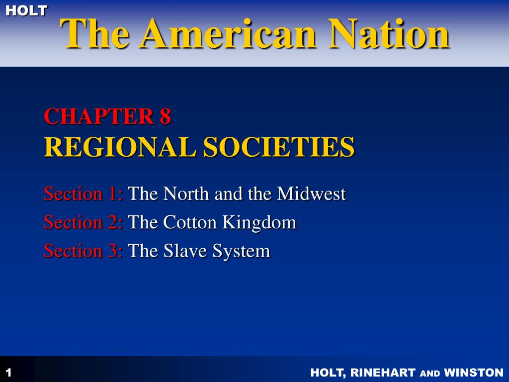 chapter 8 regional societies l.