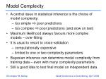 model complexity