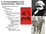 ii the consolidation of the industrial order 1850 191414