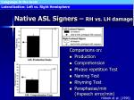 native asl signers rh vs lh damage65