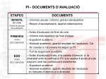 pi documents d avaluaci
