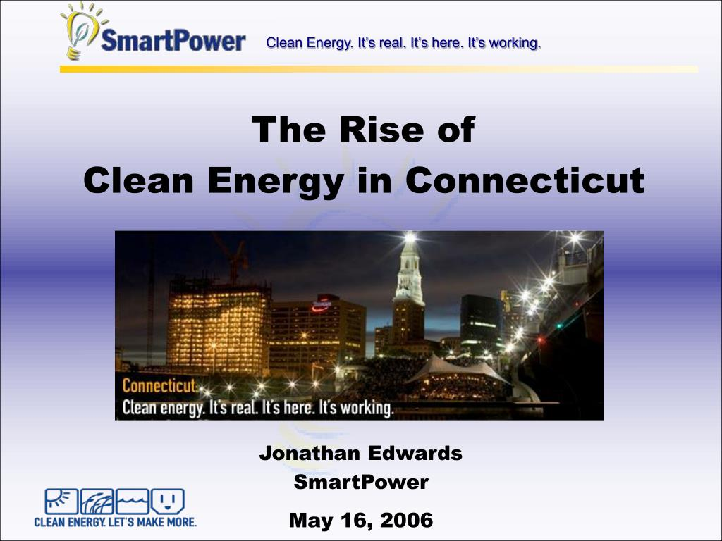 the rise of clean energy in connecticut l.