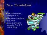 new revolution
