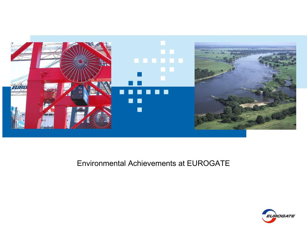environmental achievements at eurogate l.