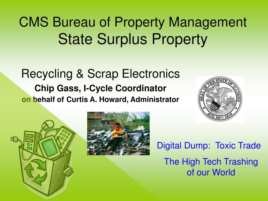 cms bureau of property management state surplus property l.