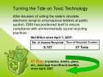 turning the tide on toxic technology11