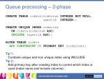 queue processing 2 phase