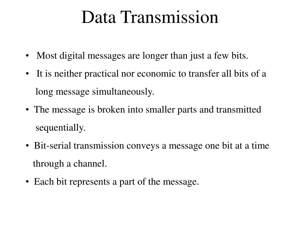 data transmission l.