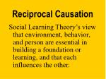 reciprocal causation