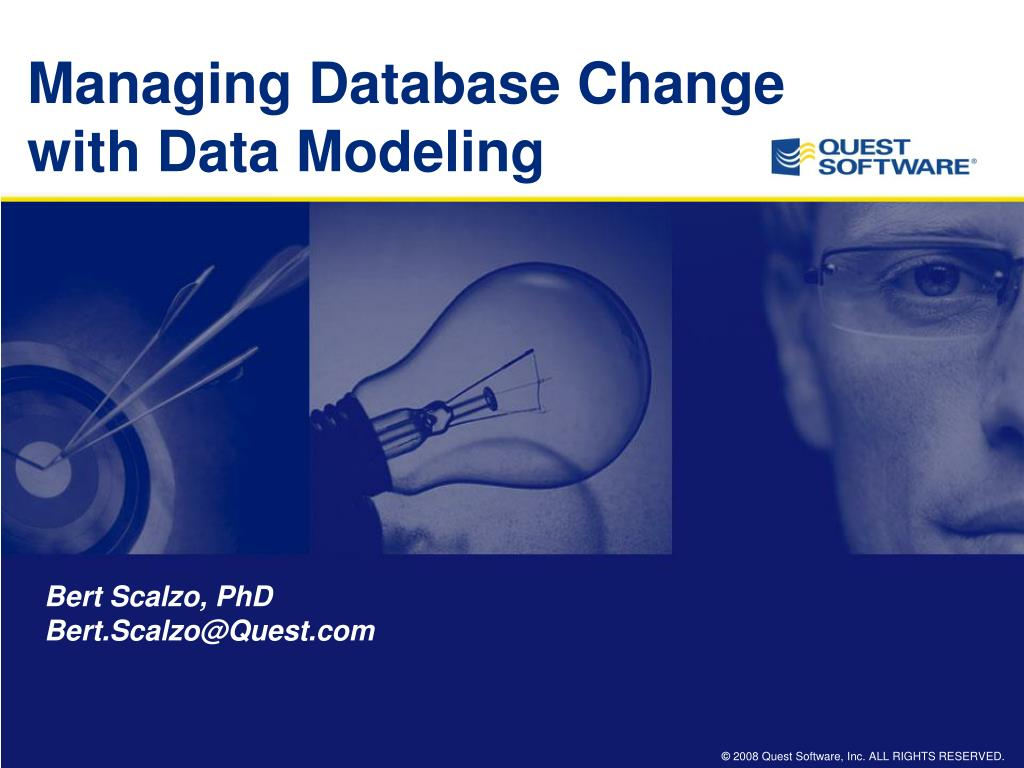 managing database change with data modeling l.