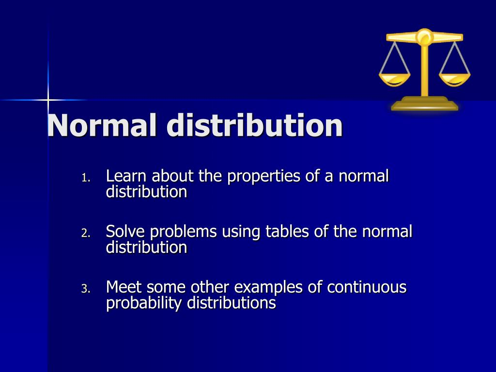 normal distribution l.