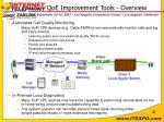 qoe improvement tools overview