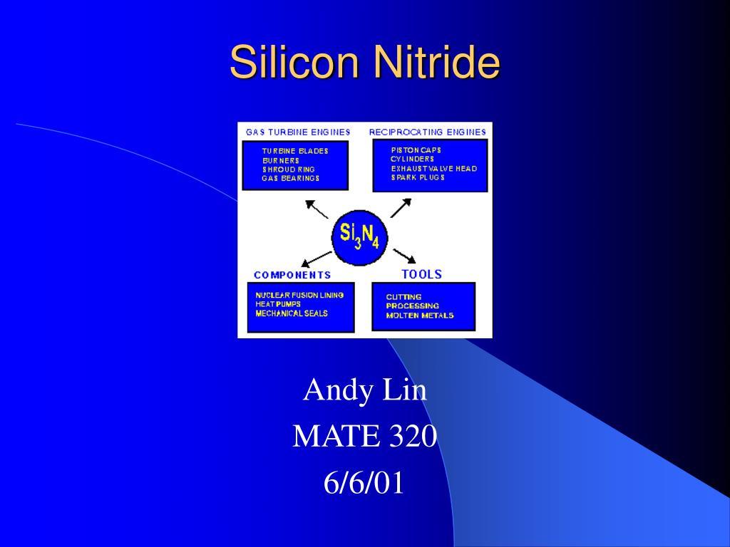 silicon nitride l.
