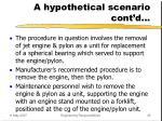 a hypothetical scenario cont d