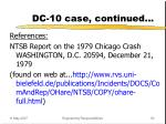 dc 10 case continued50