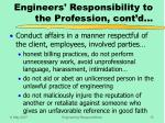 engineers responsibility to the profession cont d15