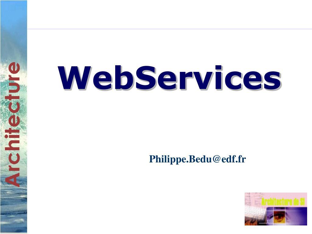 webservices l.