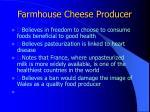 farmhouse cheese producer