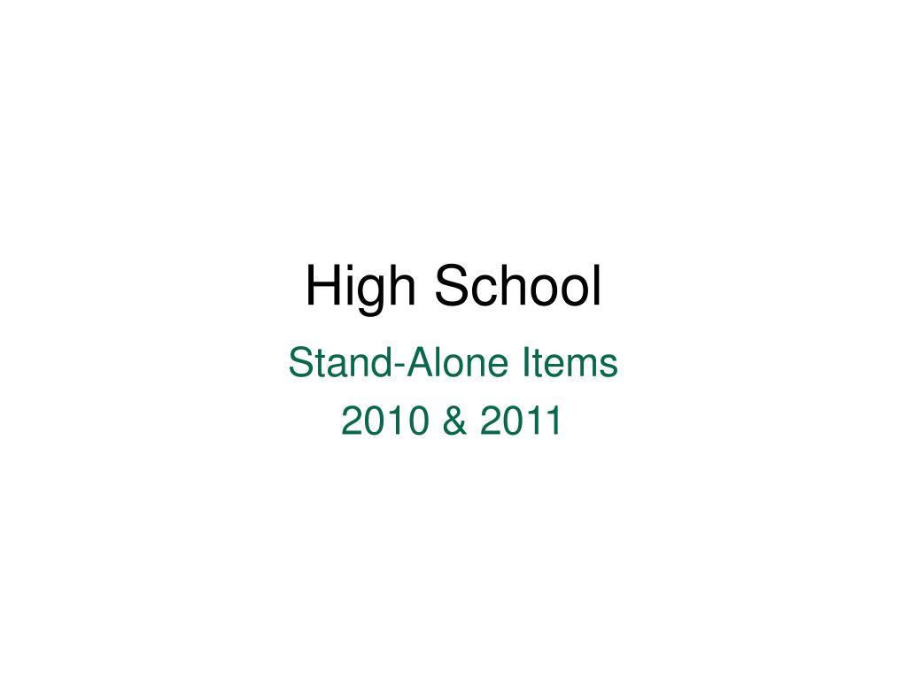 high school l.