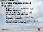struggling title i schools integrated standards based programs11