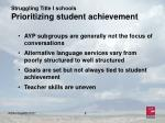 struggling title i schools prioritizing student achievement8