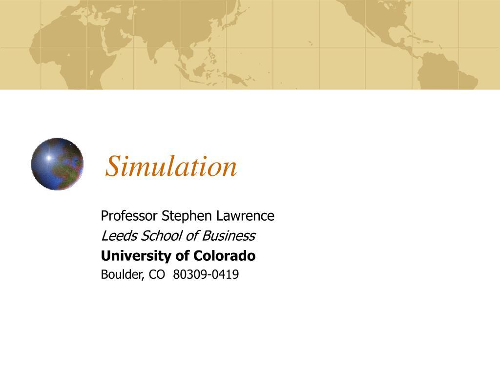 simulation l.