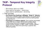 tkip temporal key integrity protocol