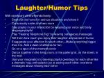laughter humor tips