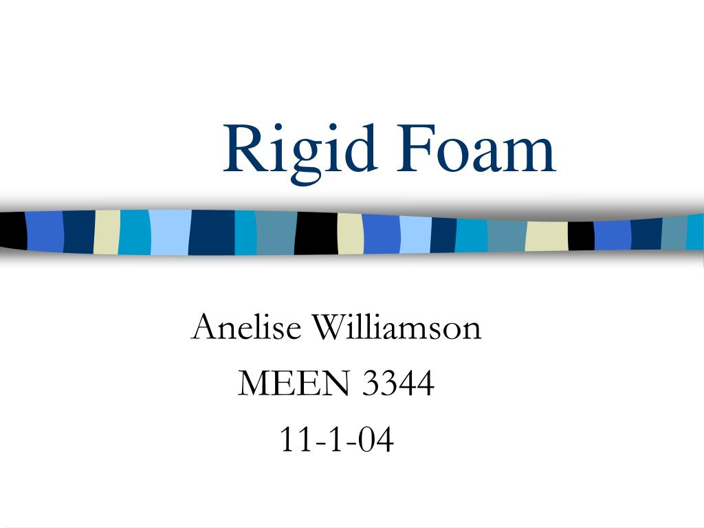 rigid foam l.