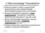 1 non exchange transactions