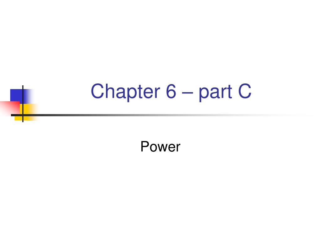 chapter 6 part c l.