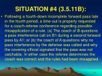 situation 4 3 5 11b