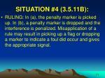 situation 4 3 5 11b25