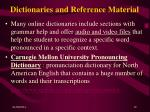 dictionaries and reference material19
