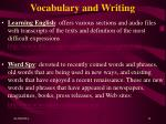 vocabulary and writing11